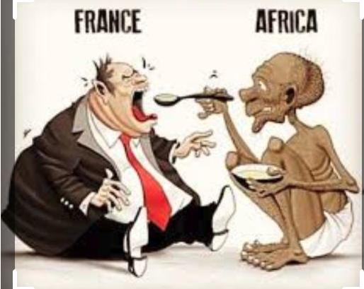 africa feeding france
