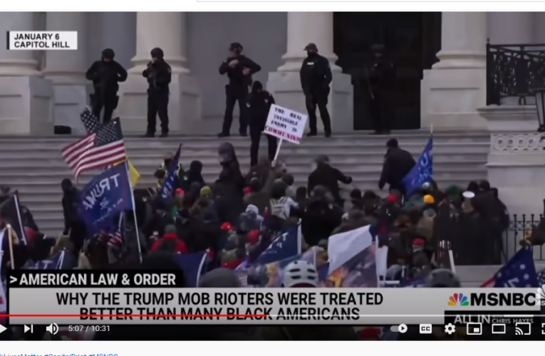 Hayes: Jan. 6th Would Have Been A Massacre If Police Reacted Like They Do To BLM Protests | All In
