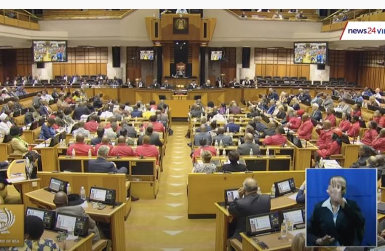 WATCH FULL | MPs disrupt Julius Malema's SONA debate speech