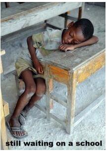 no school for blacks in africa