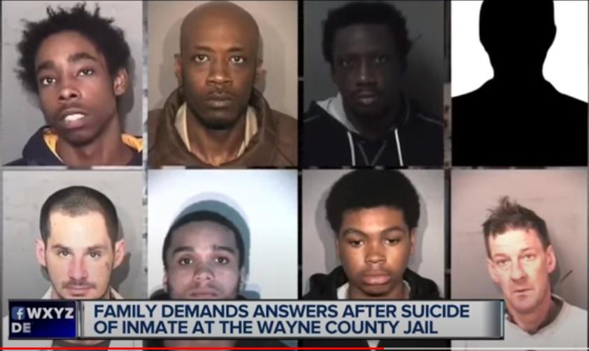 wayne county jail suicide mass